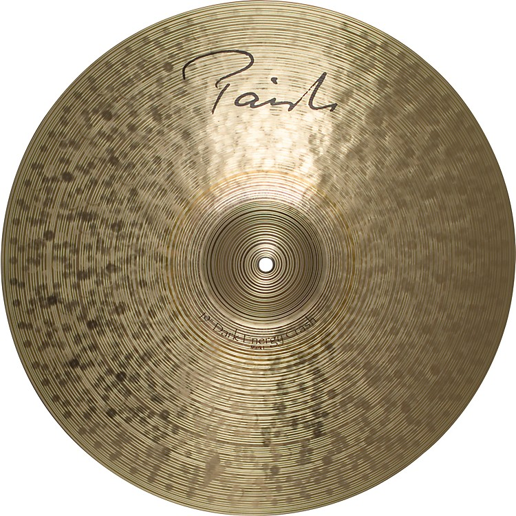 Paiste Signature Series Dark MKI Energy Crash Cymbal  19 in.
