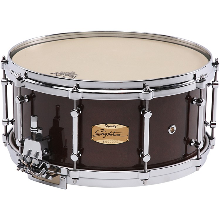 DynastySignature Series Maple Concert Snare DrumCherry Lacquer14x5