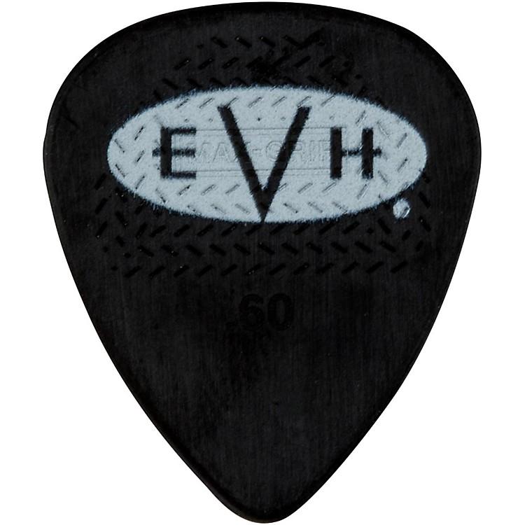 EVHSignature Series Picks (6 Pack)0.60 mmBlack/White