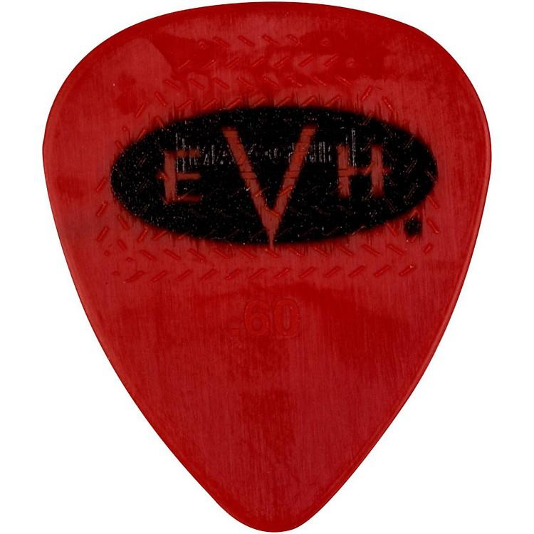 EVHSignature Series Picks (6 Pack)0.60 mmRed/Black