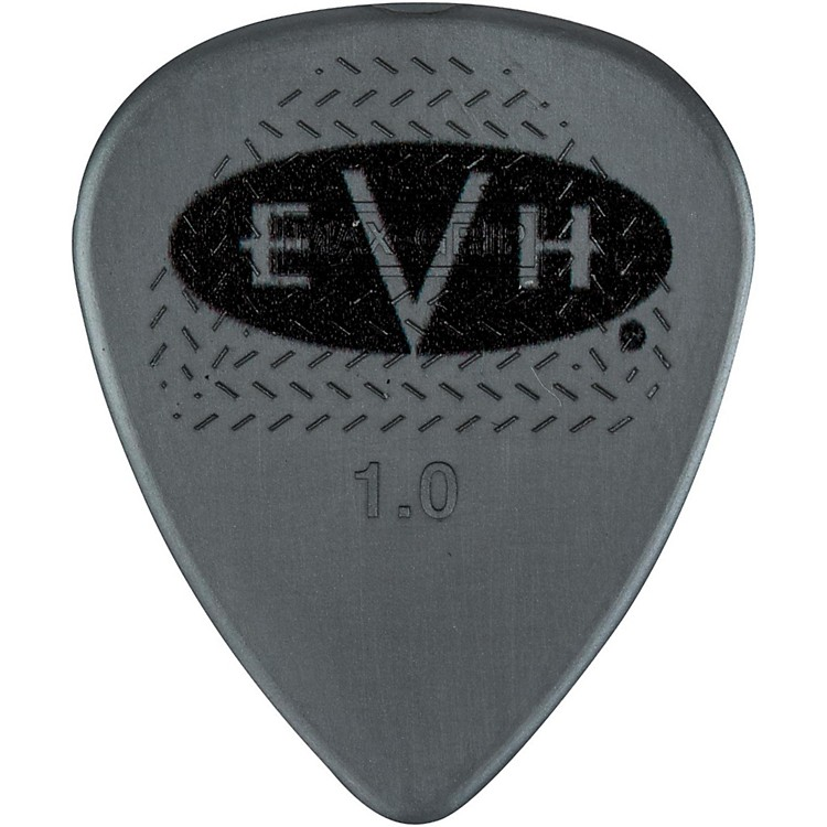 EVH Signature Series Picks (6 Pack) 1.0 mm Gray/Black