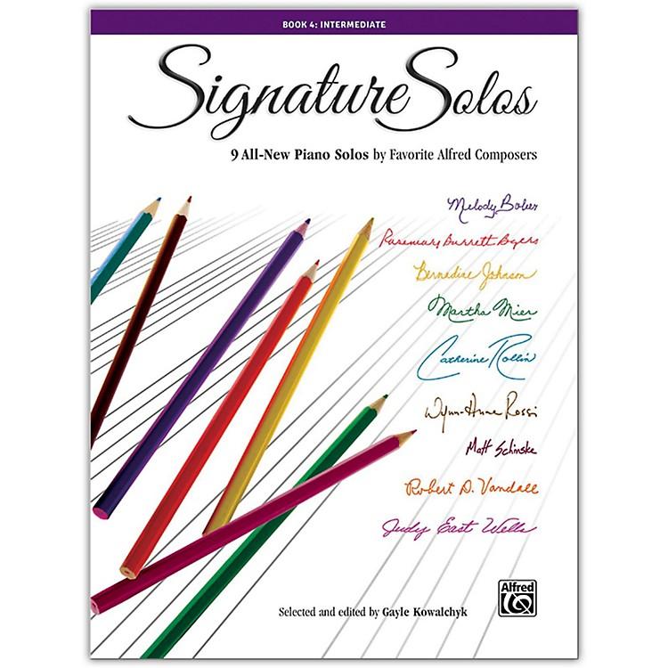 AlfredSignature Solos, Book 4 Intermediate