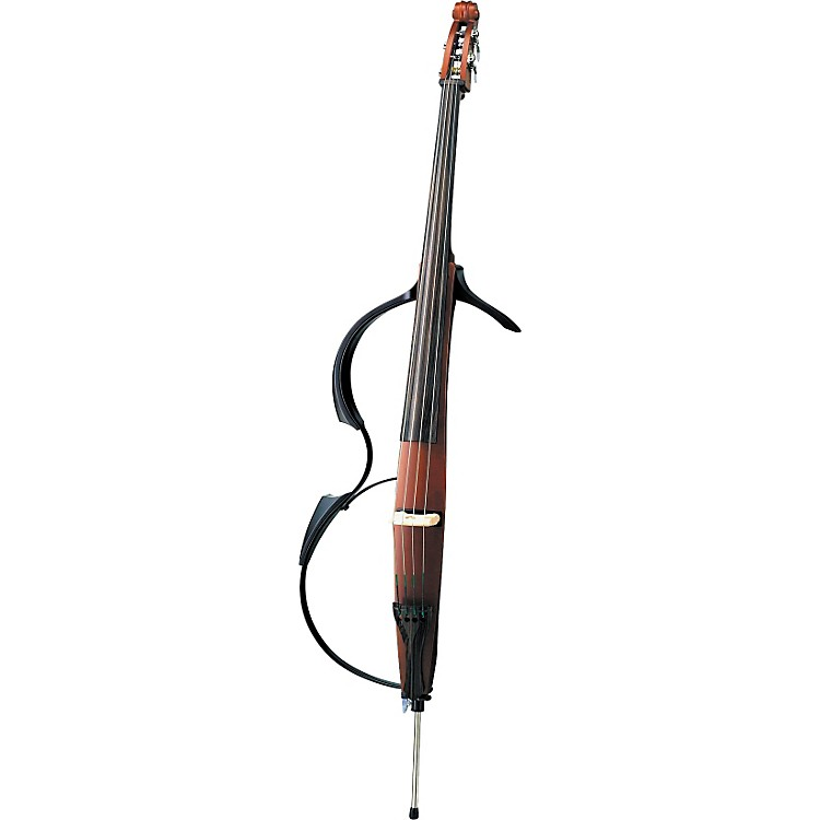 Yamaha Silent Electric Upright Bass Brown