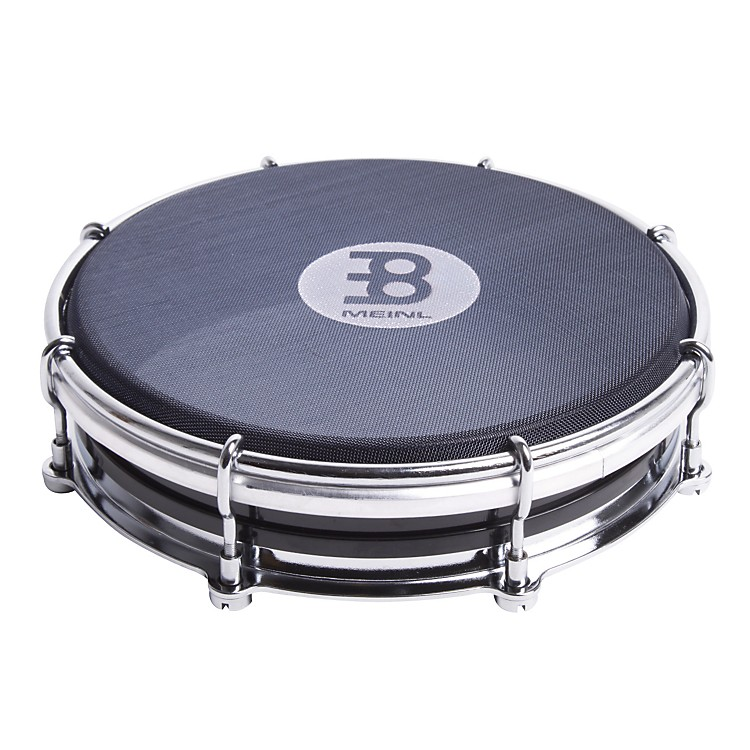 Meinl Silent Floatune Tamborim Black 6 in.