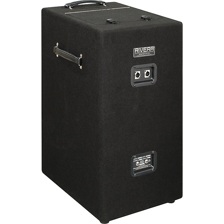 Rivera SilentSister 1x12 Guitar Isolation Speaker Cabinet Black