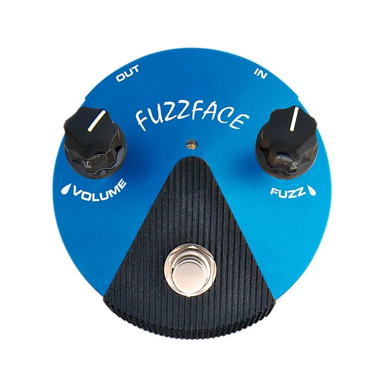 DunlopSilicon Fuzz Face Mini Blue Guitar Effects Pedal