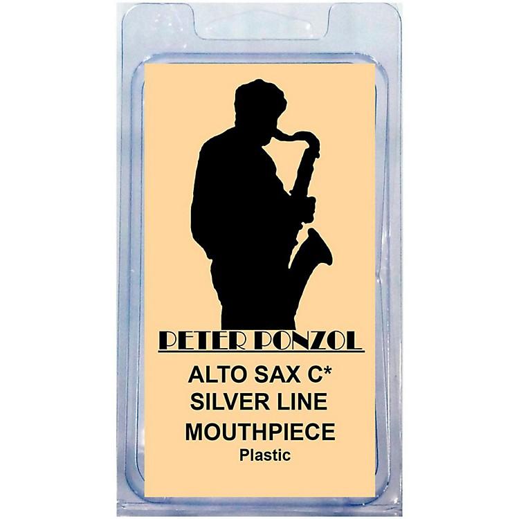 Peter PonzolSilver Line Premium Saxophone Mouthpiece KitAlto Saxophone C*