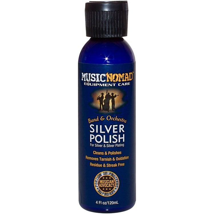 Music NomadSilver Polish for Silver & Silver Plated Instruments4oz. Bottle