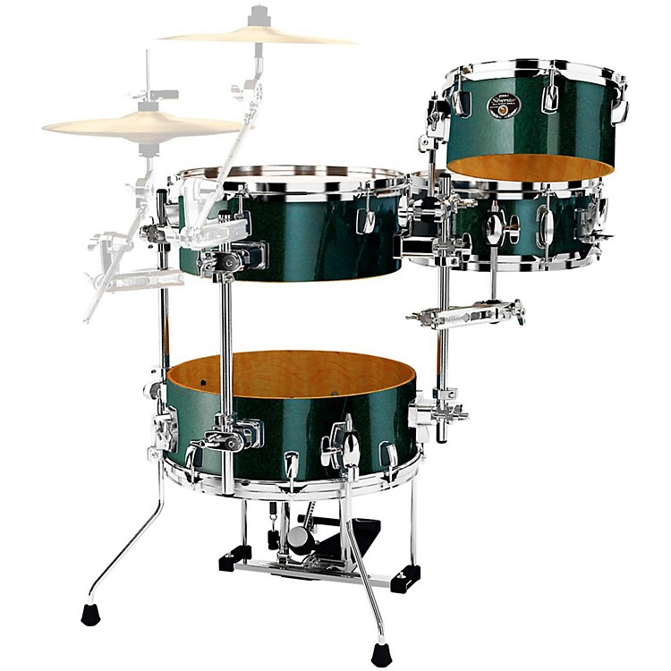 Tama Silverstar Cocktail-Jam 4-Piece Kit with Pedal Chameleon Sparkle