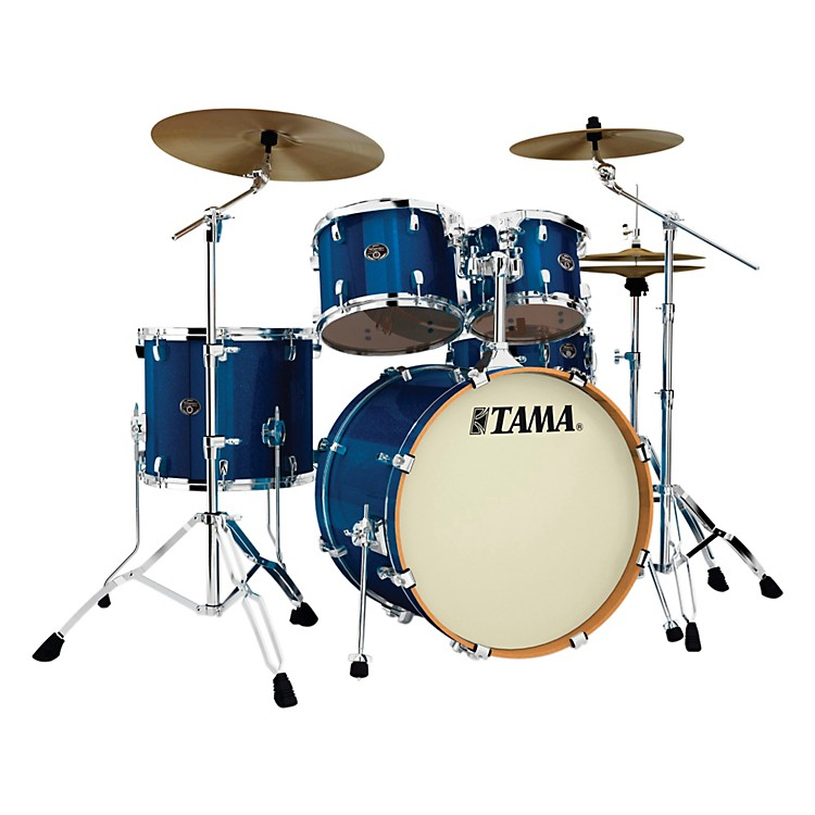 Tama Silverstar VK Limited Edition 5-Piece Shell Pack Indigo Sparkle