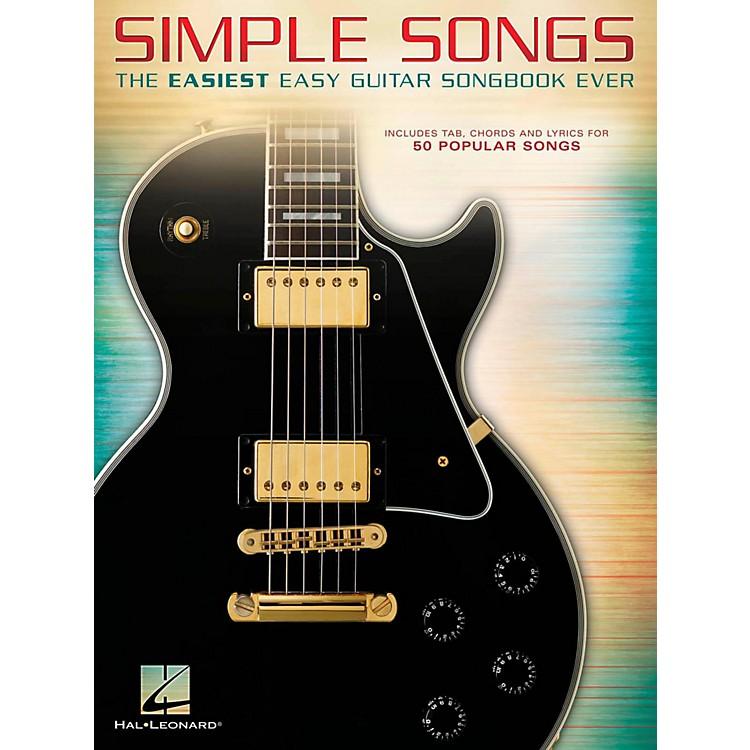 Hal LeonardSimple Songs - The Easiest Easy Guitar Songbook Ever