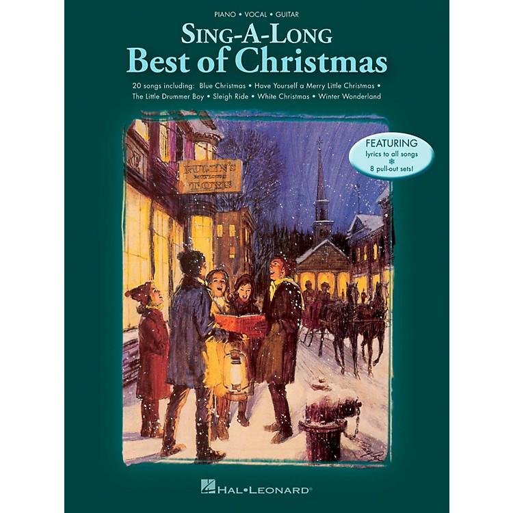 Hal LeonardSing-A-Long: Best Of Christmas