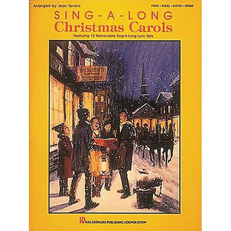 Hal LeonardSing-A-Long Christmas Carols Piano, Vocal, Guitar Songbook