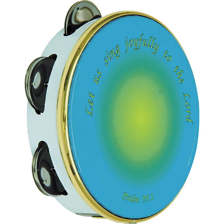 Remo Sing Joyfully Tambourine 10 in., 8 Jingles