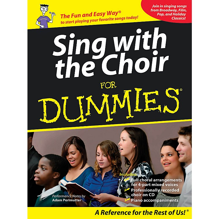 Hal LeonardSing With The Choir For Dummies - Book/CD Pack