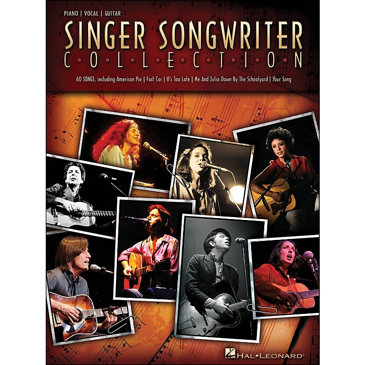 Hal LeonardSinger Songwriter Collection arranged for piano, vocal, and guitar (P/V/G)