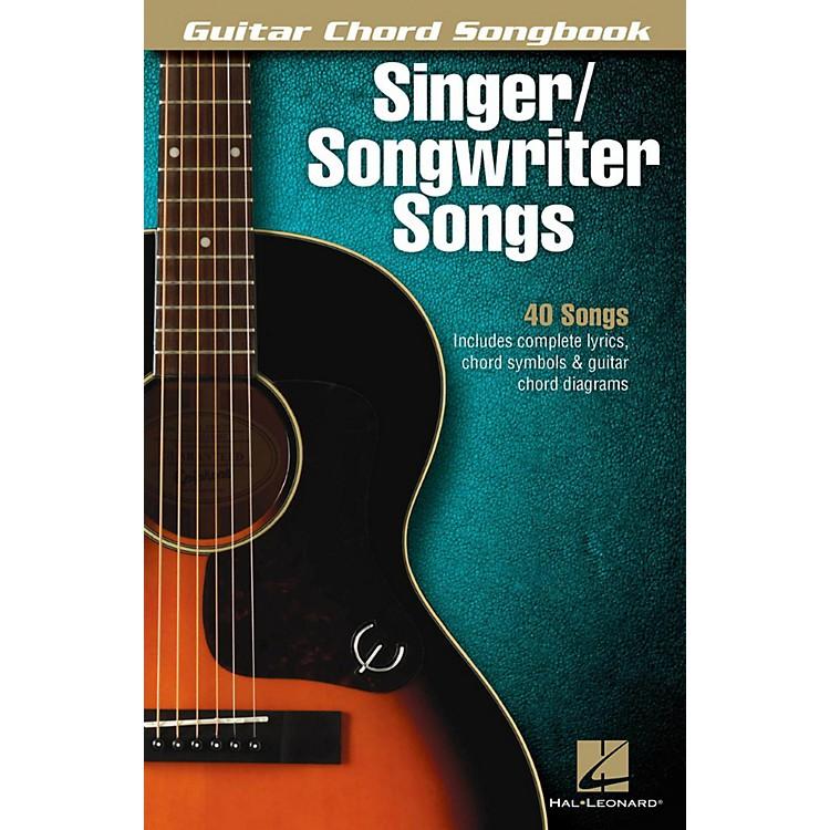 Hal LeonardSinger/Songwriter Songs - Guitar Chord Songbook