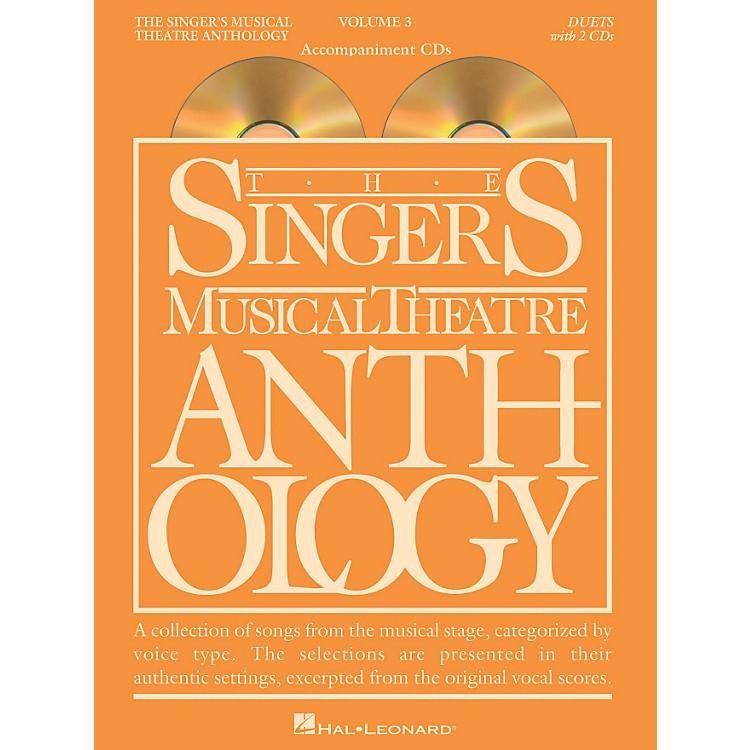 Hal LeonardSinger's Musical Theatre Anthology Duets Volume 3 Accompaniment CDs