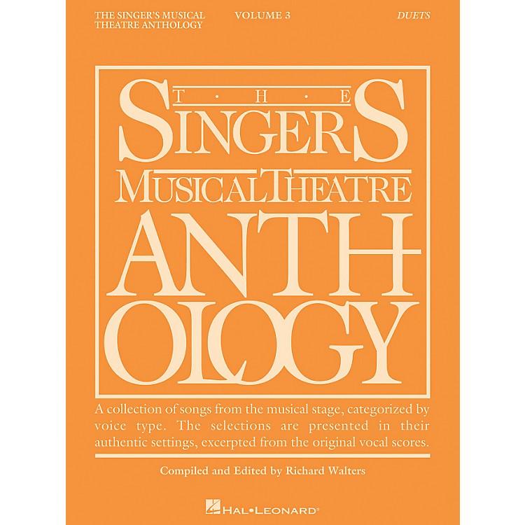 Hal LeonardSinger's Musical Theatre Anthology Duets Volume 3