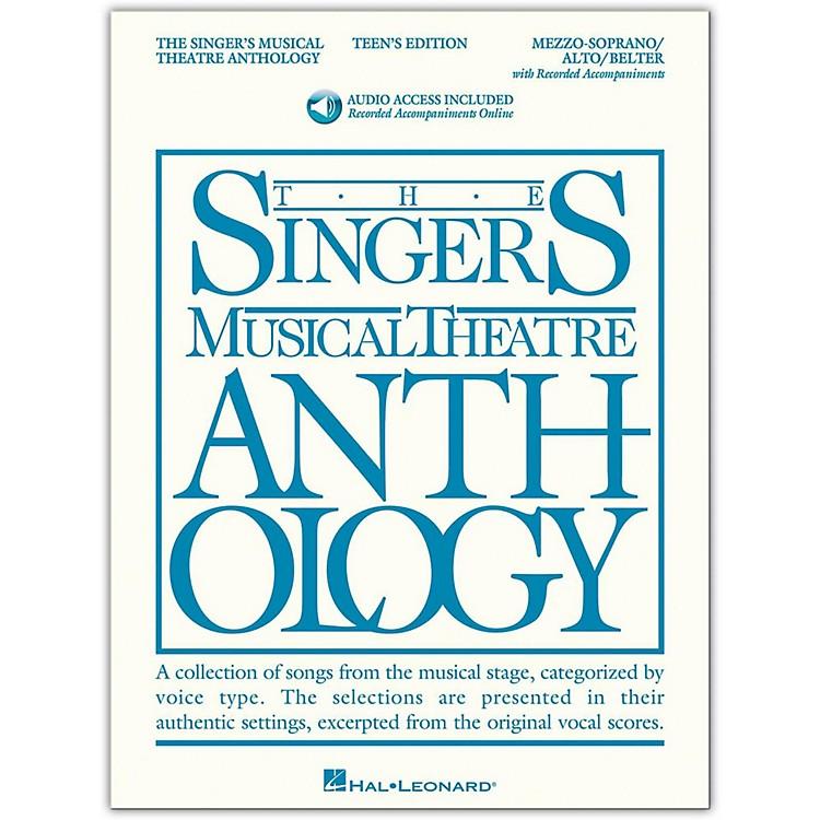 Hal LeonardSinger's Musical Theatre Anthology Teen's Edition Mezzo-Soprano/Alto/Belter Book/2CD