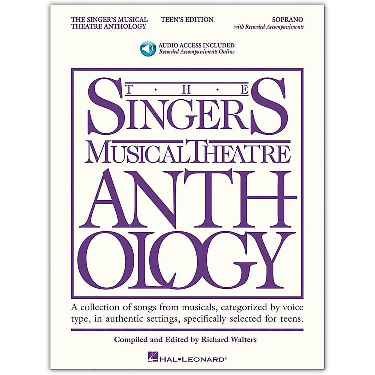Hal LeonardSinger's Musical Theatre Anthology Teen's Edition Soprano Book/2CD