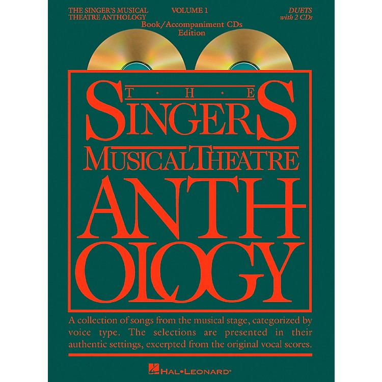 Hal Leonard Singer's Musical Theatre Anthology Volume 1 Duets Book / 2CD's