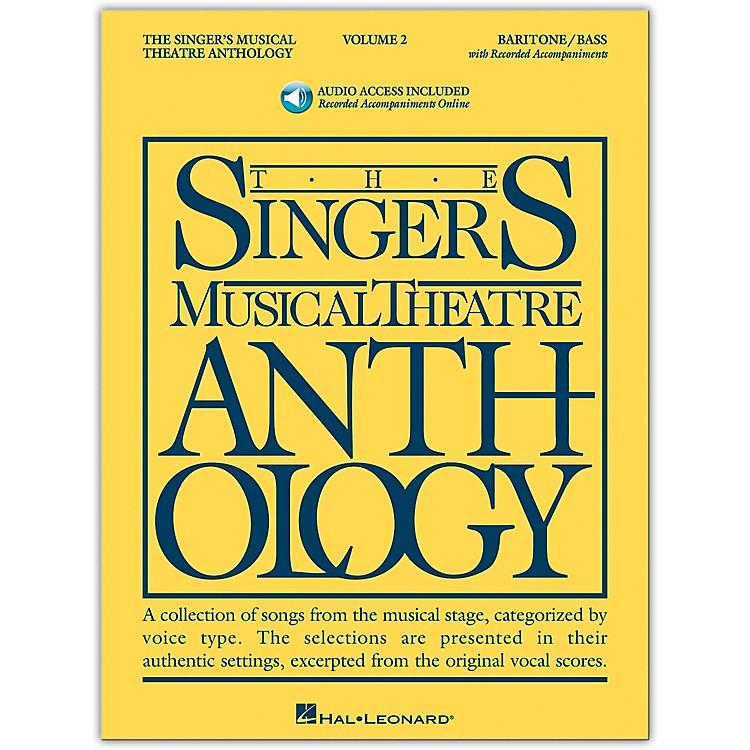 Hal LeonardSinger's Musical Theatre Anthology for Baritone / Bass Volume 2 Book/2CD's