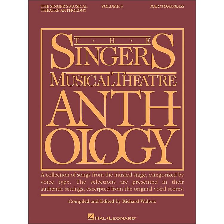 Hal LeonardSinger's Musical Theatre Anthology for Baritone / Bass Volume 5