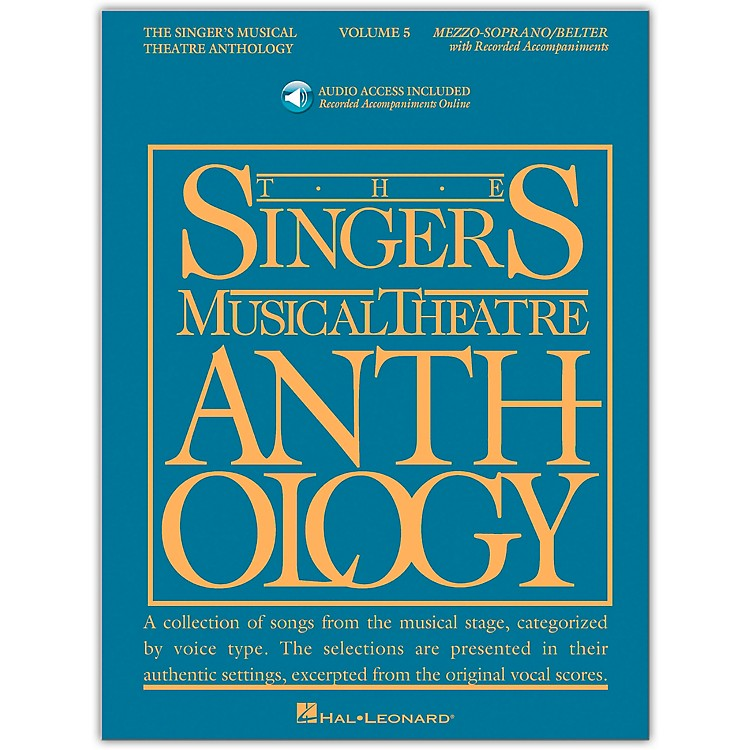 Hal Leonard Singer's Musical Theatre Anthology for Mezzo-Soprano / Belter Vol 5 Book/2CD's