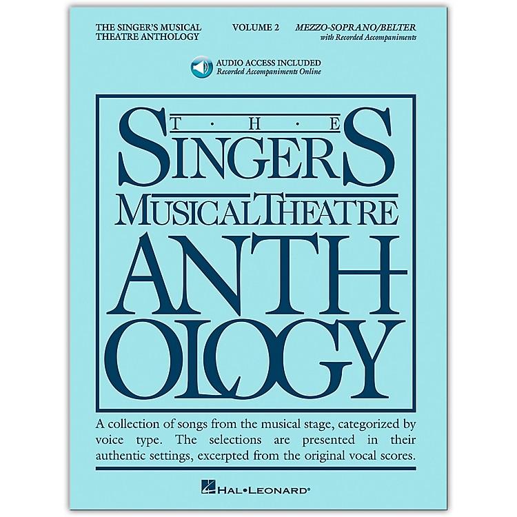 Hal LeonardSinger's Musical Theatre Anthology for Mezzo-Soprano / Belter Volume 2 Book/2CD's