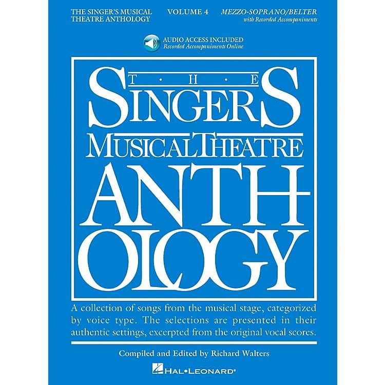 Hal LeonardSinger's Musical Theatre Anthology for Mezzo-Soprano / Belter Volume 4 Book/2CD's