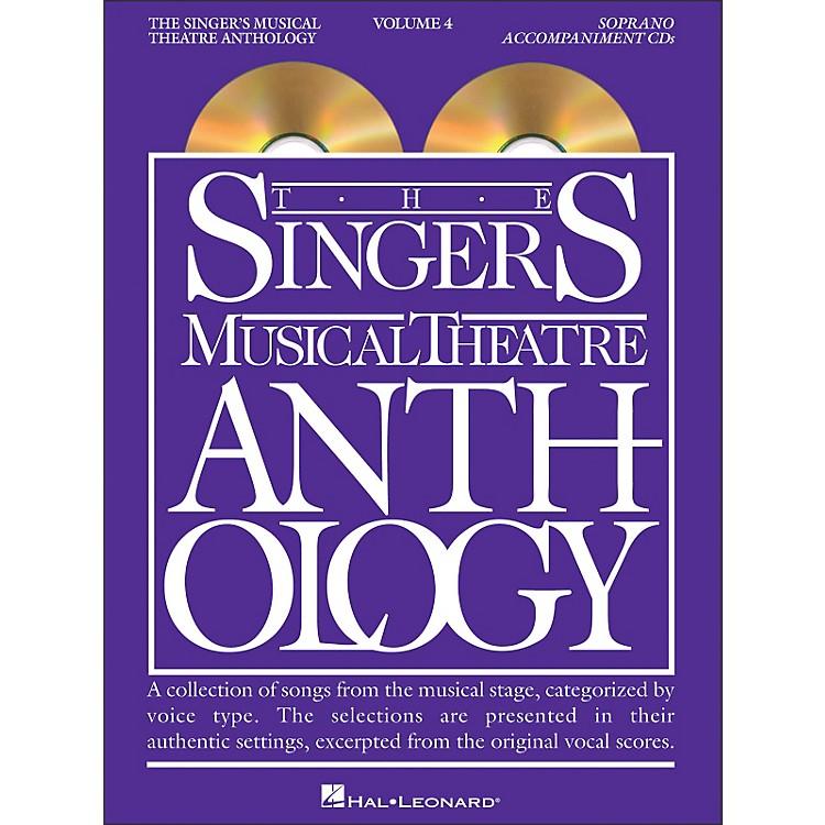 Hal LeonardSinger's Musical Theatre Anthology for Soprano Voice Volume 4 Accompaniment CD's (2 CD Set)