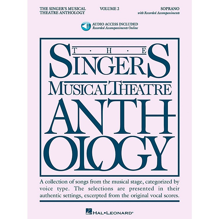 Hal LeonardSinger's Musical Theatre Anthology for Soprano Volume 2 Book/2CD's