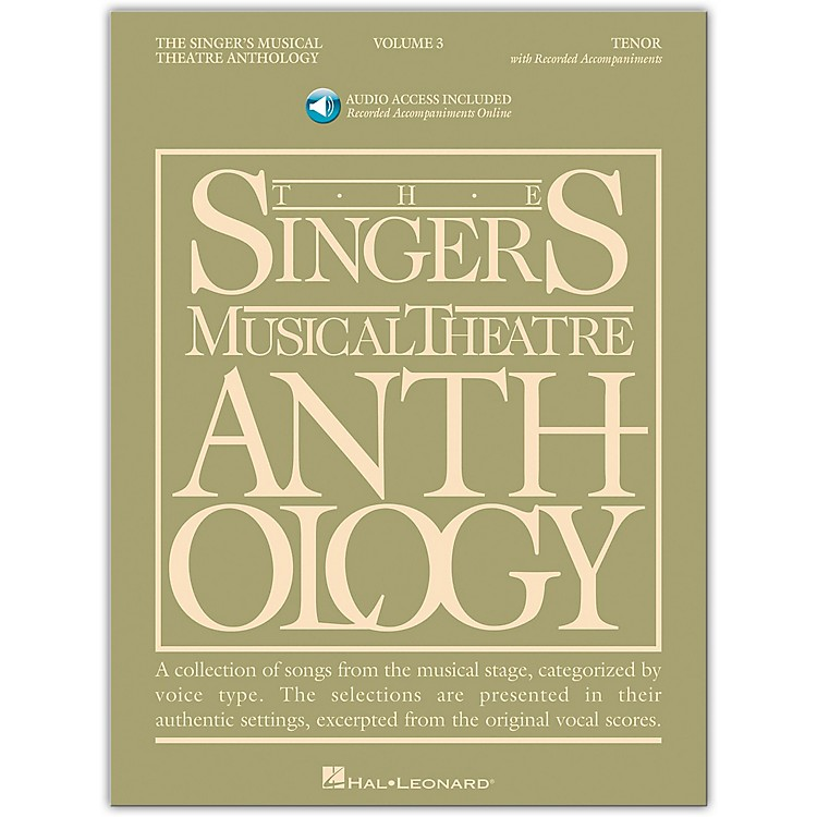 Hal LeonardSinger's Musical Theatre Anthology for Tenor Voice Volume 3 Book/2CD's