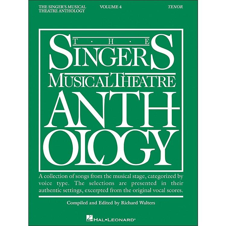 Hal LeonardSinger's Musical Theatre Anthology for Tenor Voice Volume 4