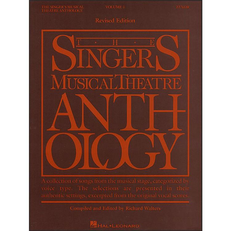 Hal LeonardSingers Musical Theatre Anthology for Tenor Volume 1