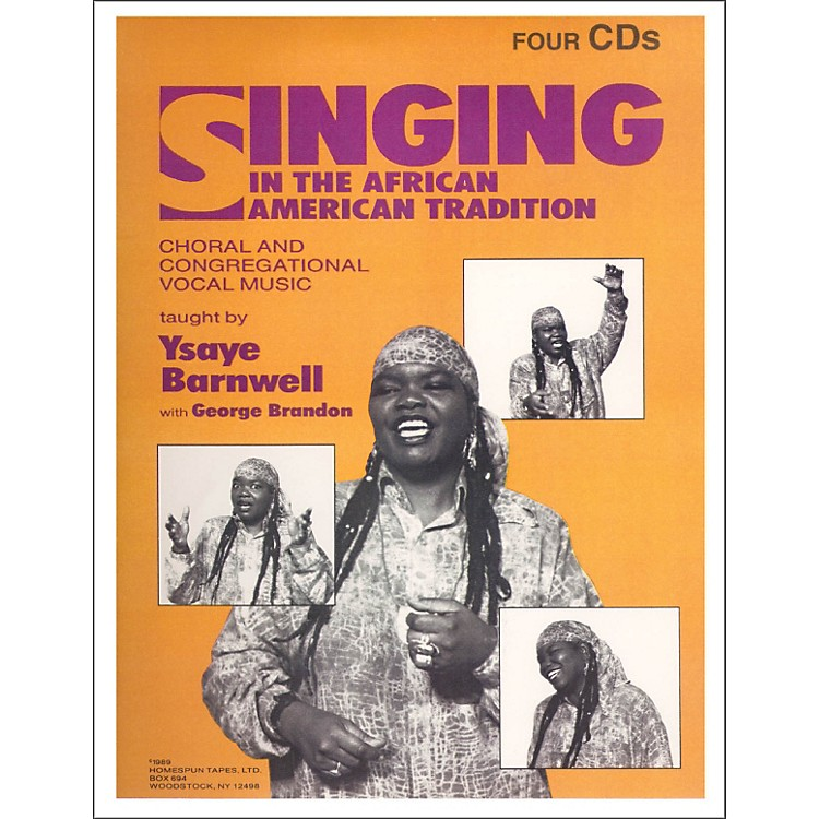 HomespunSinging In The African American Tradition