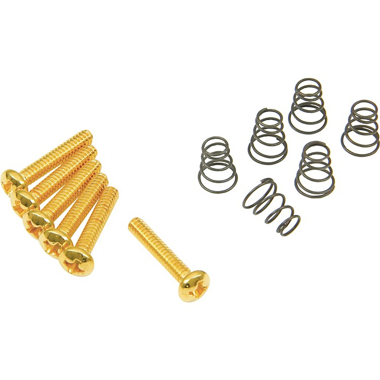 DiMarzioSingle Coil Mounting Hardware KitGold