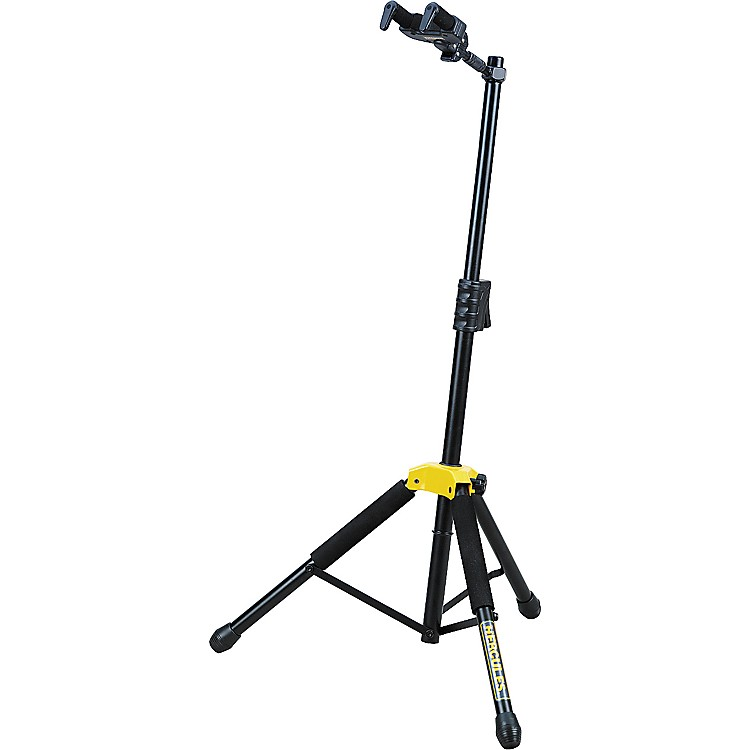 Hercules StandsSingle Guitar Stand with Folding Yoke