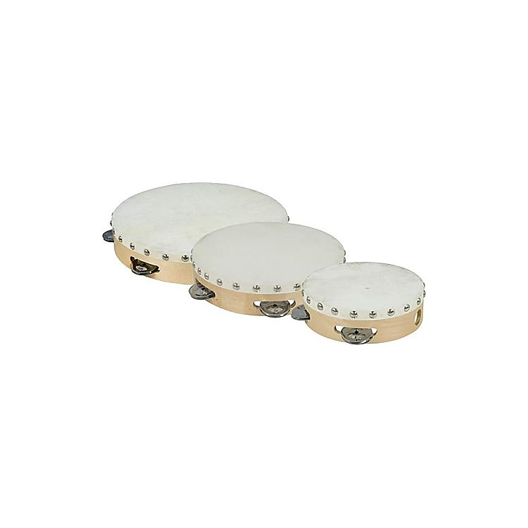Cannon Percussion Single-Row Tambourine