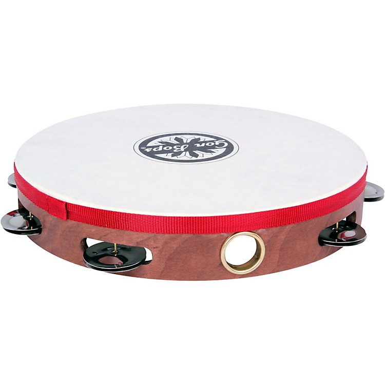 Gon BopsSingle Row Wooden Tambourine w/Head