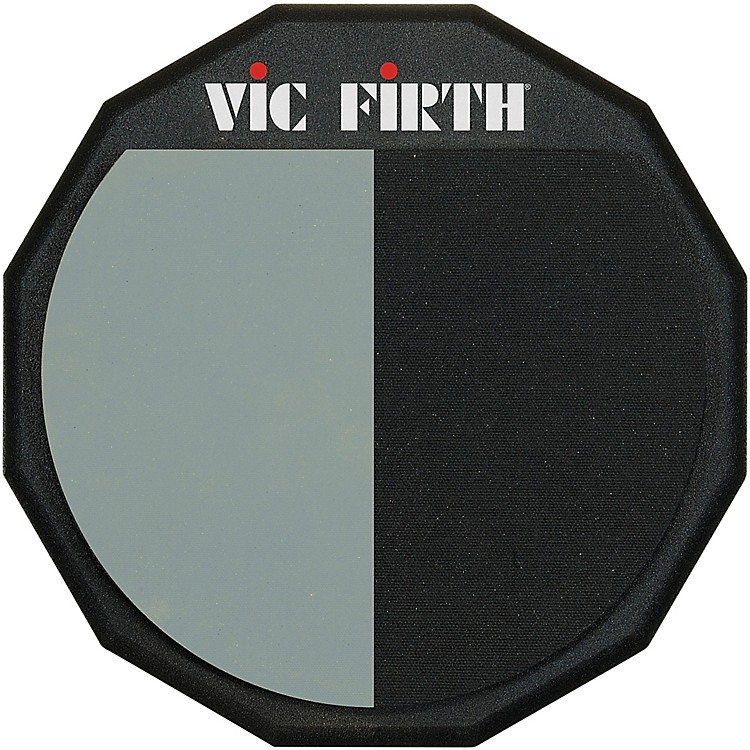 Vic Firth Single-Sided/Divided Practice Pad  12 Inches