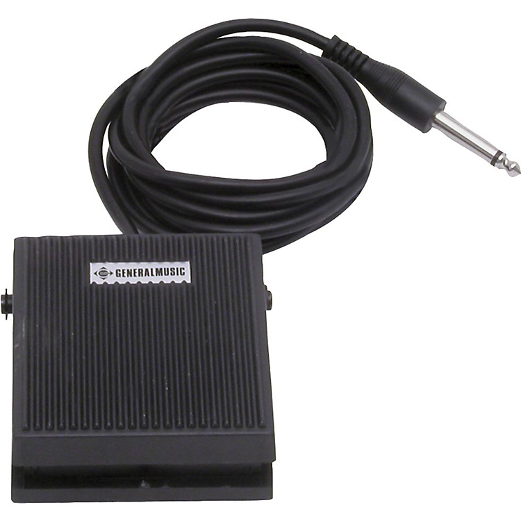 Gem Single Sustain Pedal for GEM Keyboards except GK Series