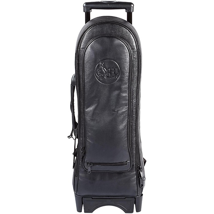 Gard Single Trumpet Wheelie Bag 1-WBFLK Black Ultra Leather