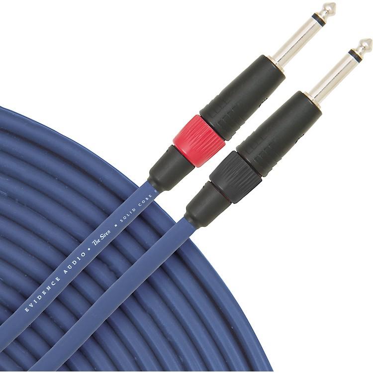 Evidence AudioSiren II Speaker Cable10 ft.Straight to Straight 1/4 IN