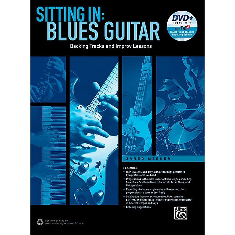 AlfredSitting In: Blues Guitar Book & DVD-ROM