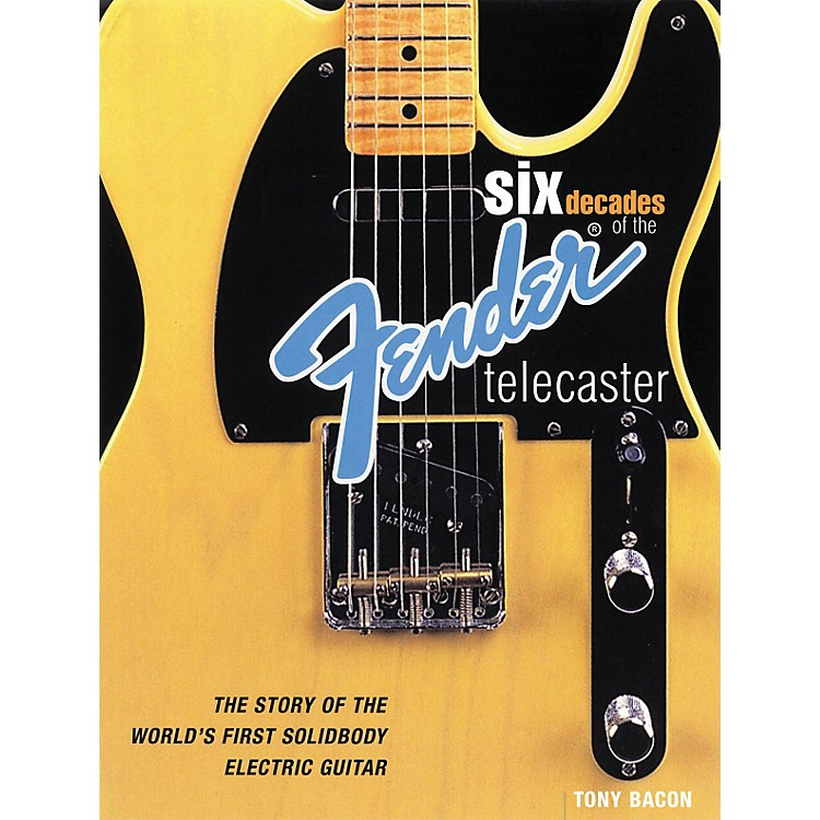 Backbeat BooksSix Decades of the Fender Telecaster (Book)