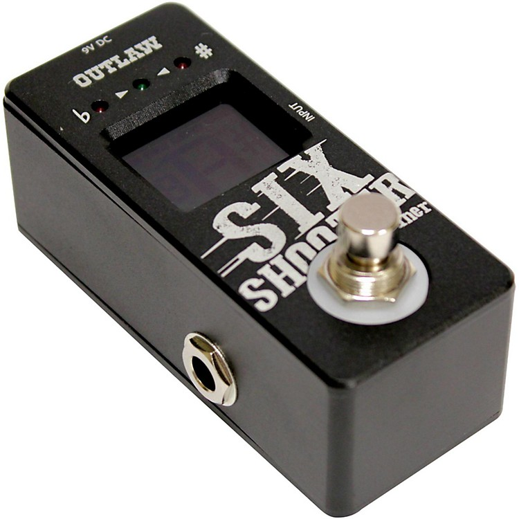 Outlaw EffectsSix Shooter Tuner Pedal