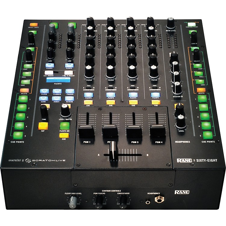 Rane Sixty-Eight DJ Mixer for Serato Scratch Live