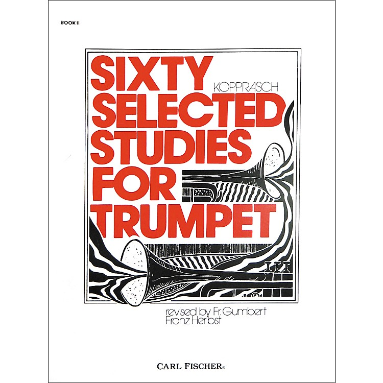 Carl Fischer Sixty Selected Studies for Trumpet Book 2
